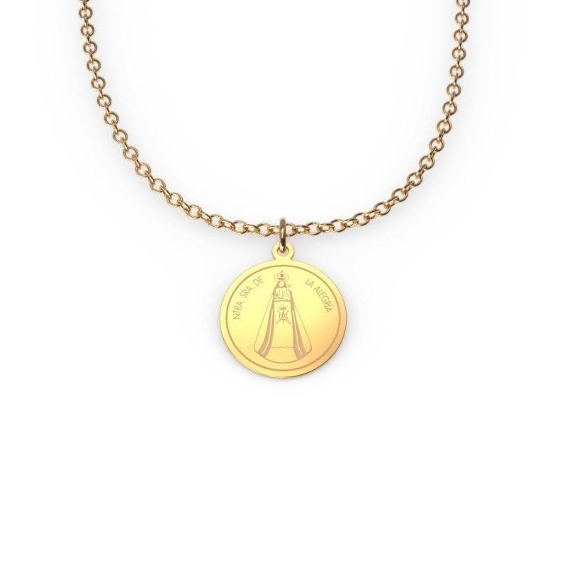 Medallita de oro